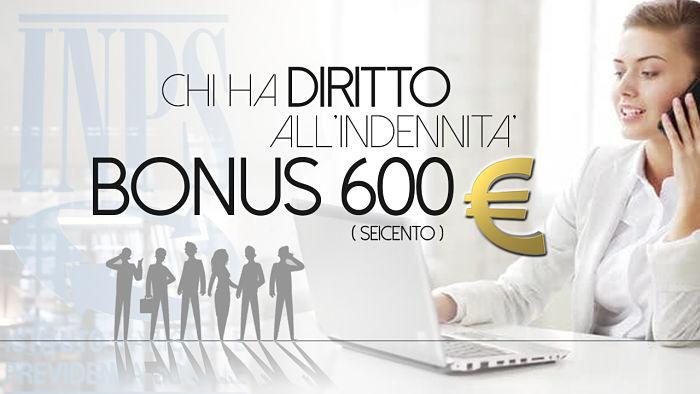 bonus 600 euro Ia chi spetta