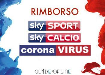 Richiesta rimborso Sky Coronavirus