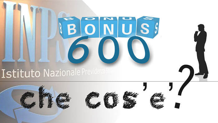 bonus 600 euro cosa e