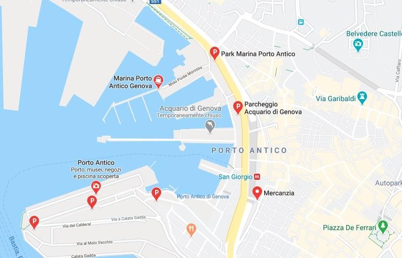 parcheggiare salone nautico