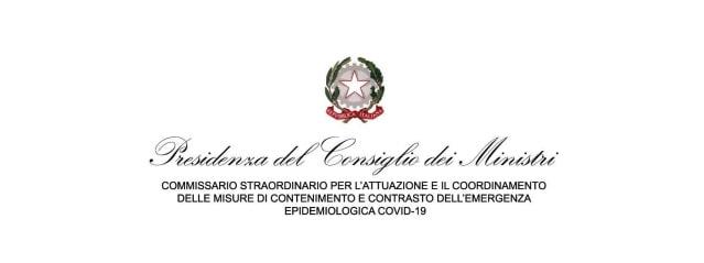 ordinanza n. 11/2020 del Commissario straordinario per l'emergenza Covid-19