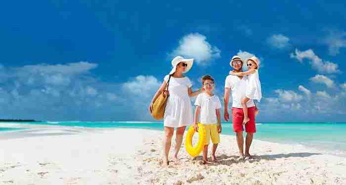 genitori e figli in vacanza