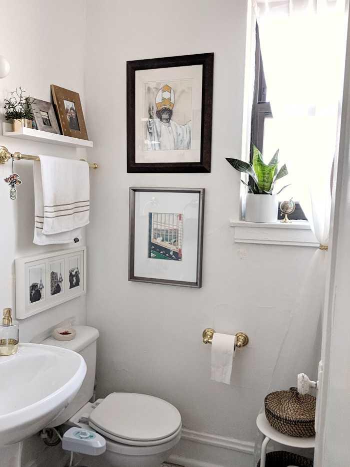 bagno bianco piccolo