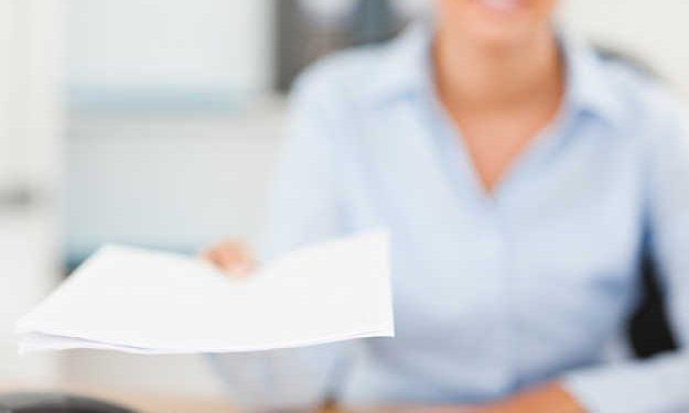 documento consegna una pratica