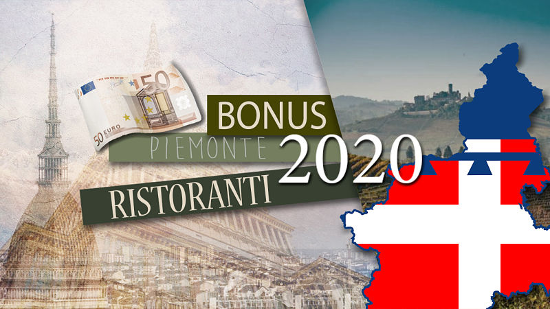 Bonus Ristoranti Piemonte 2020