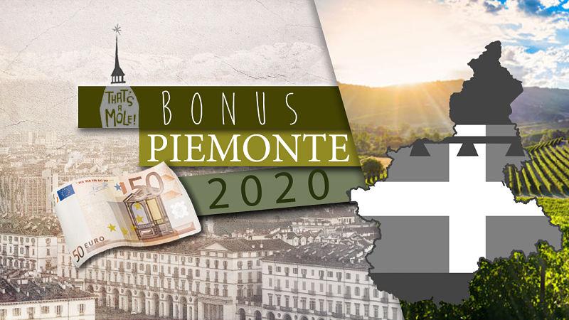 bonus piemonte 2020